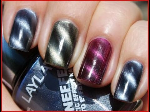 Tutorial: Uñas Magneticas - Magnetic Nail Art