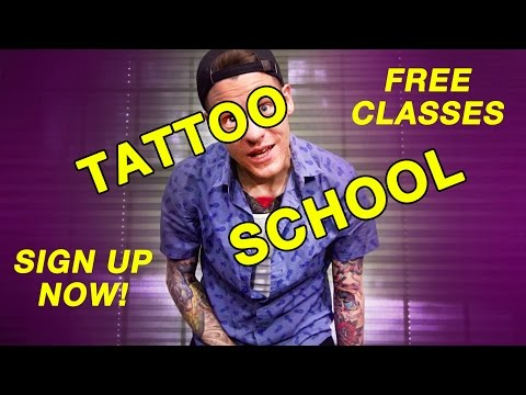 Tattooing for Beginners - Tattoo School Is In Session! - YouTube