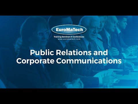 Public Relations and Corporate Communications - YouTube