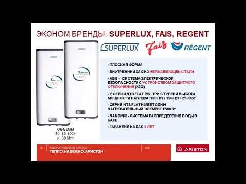 Водонагреватель Superlux NTS 100 V
