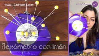 Flexómetro con imán, ideal para costura
