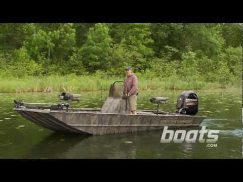 2013 Crestliner 1860 Retriever Center Console Aluminum Fishing Boat Review / Performance Test