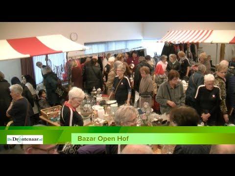 VIDEO   Traditiegetrouw is het dringen om naar binnen te mogen bij Bazar Open Hof