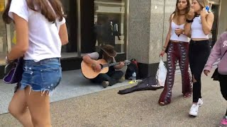 """Song Homeless Guy Surprises People & Stuns Crowd (behind the camera)! """"Song 2"""" - Share 💛"""