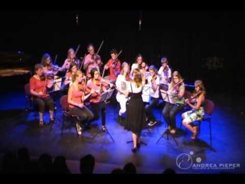 Andrea Pieper - uitvoering strijkersensemble - deel 1