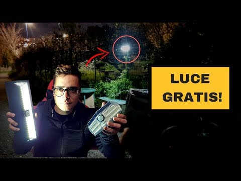 LUCE GRATIS !!!  -  Migliore luce solare LED da esterno