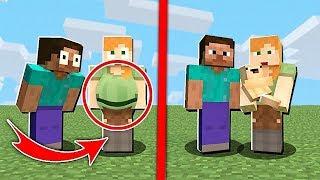MÁM RODINU V MINECRAFTU JAKO V REÁLNÉM ŽIVOTĚ!! | Minecraft mods