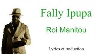 "Fally Ipupa ""Roi Manitou""lyrics"