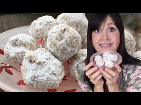 NUTBALLS A.K.A Mexican Wedding Cookies // Tasty Bit 81