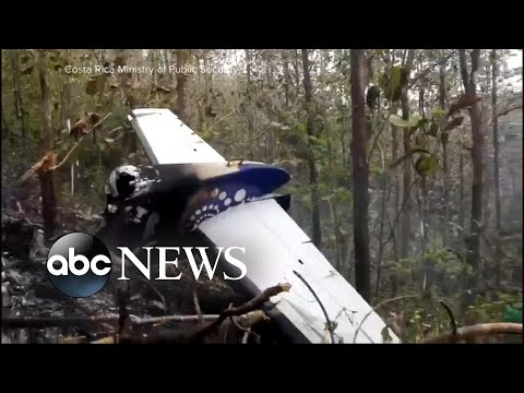 10 Americans, 2 pilots killed in Costa Rica plane crash