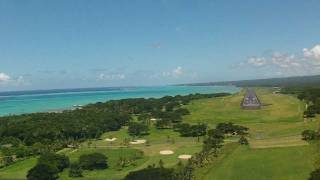 preview picture of video 'APIA arrival RWY 08 approach'
