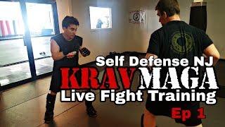 Krav Maga Training - LIVE Fight Training With Self Defense NJ - Ep 1