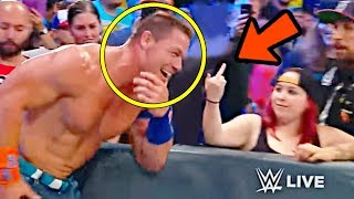 10 Shocking WWE Moments That Happened By Mistake!