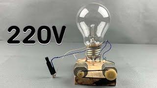 Free Energy Light Bulbs 220V   Using Piezo Igniter  / at home 2021