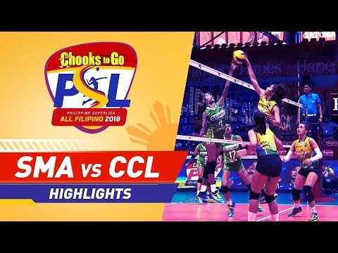 [Sport5]  Highlights: Smart vs. Cocolife | PSL All-Filipino Conference 2018