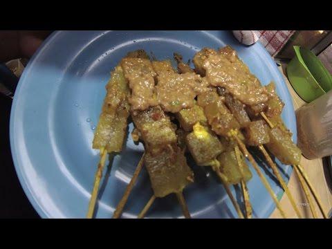 Video Greater Jakarta Street Food 1293 Part.1 Yogyakarta Cow's Foot Satay Sate Kikil Warung Mas Agus 5989