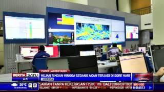 BMKG Jakarta Diprediksi Hujan Sore Hari