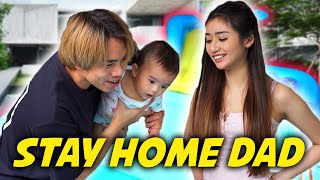 A Day in JianHao's Life as a Dad (In Quarantine)