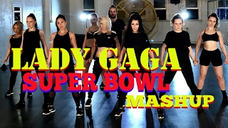 Totally inspired by Lady Gaga and her incredible SuperBowl performance I just