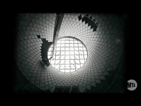 Watch The MTA Assemble A Prismatic Tunnel To The Sky