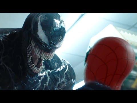 """VENOM"" Eats SPIDER-MAN | VENOM Trailer Final Scene (HD)"