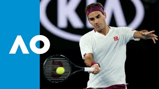 Roger Federer vs Marton Fucsovics  - Match Highlights (R4) | Australian Open 2020