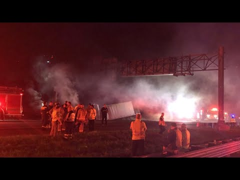 2 killed in crash on Interstate 75 in New Tampa