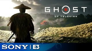 Ghost of Tsushima Full Gameplay Reveal (with Flute) | Sony E3 2018 - dooclip.me