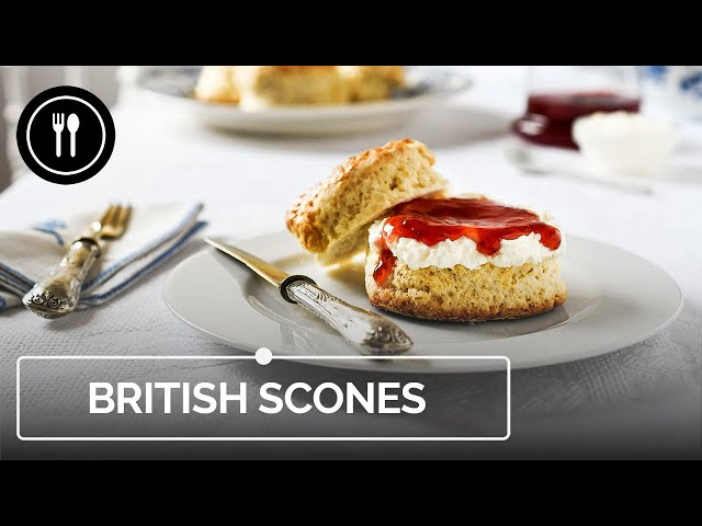 Cómo hacer Scones británicos clásicos