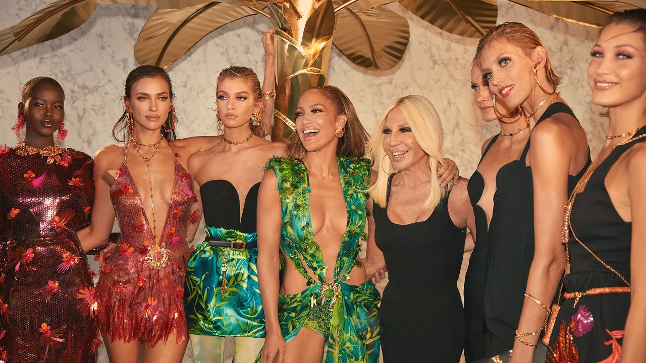 Behind the scenes at Versace Women's Spring Summer 2020