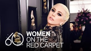 Women On The Red Carpet: Lady Gaga to Kesha | Fashion Cam | 60th GRAMMYs