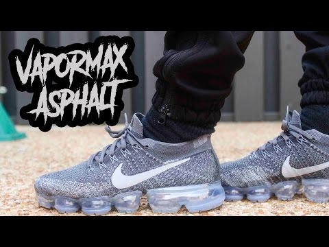 "ARE THESE REALLY WORTH $200 ?!? COP OR NOT ?!? NIKE AIR VAPORMAX ""ASPHALT"" REVIEW AND ON FOOT IN 4K"