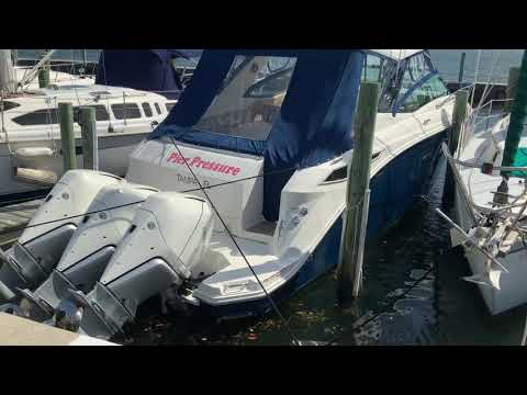 Sea Ray 32 Sundancer OB video