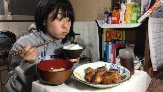 【圧力鍋】とろとろ豚の角煮を簡単レシピで作ってみた!【岡奈なな子】