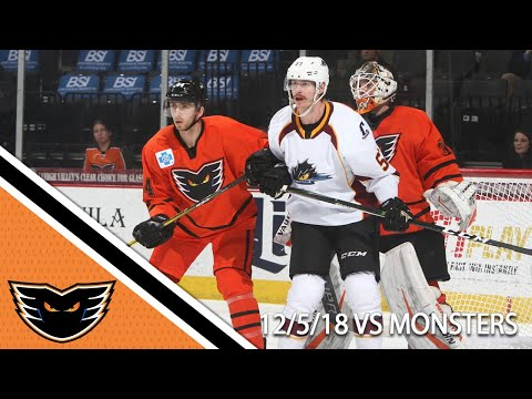 Monsters vs. Phantoms | Dec. 5, 2018