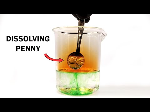 Destroying a Penny with Acid