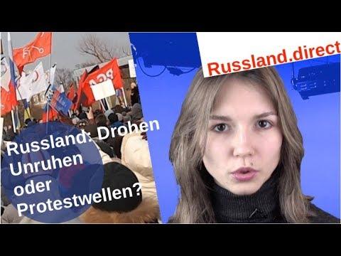 Drohen Russland Unruhen und Protestwellen? [Video]