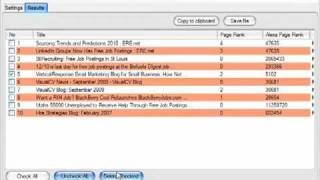 How to use Trackback Collector to find and collect high ranking links for your blog or website