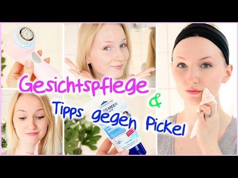 Tipps gegen PICKEL + GESICHTSPFLEGE ROUTINE für REINE HAUT