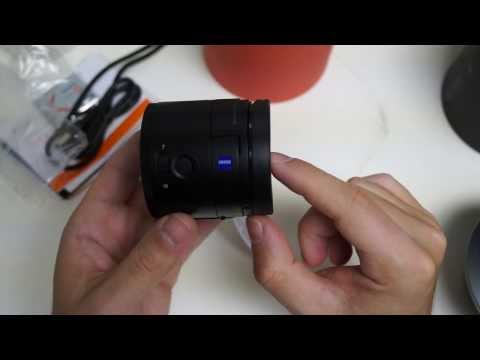 Sony Cyber-shot QX100 Unboxing and Hands-On