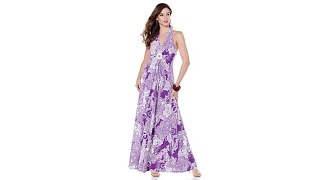 9076b363860 Antthony Fashion Festival of Color Maxi Dress - HSN