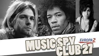 CLUB 27 (Jimi Hendrix, Kurt Cobain, Amy Winehouse a další...)