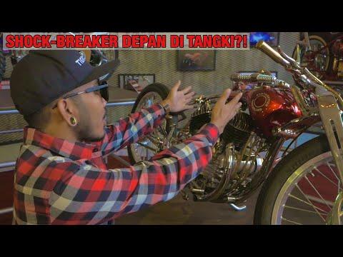 Honda GL Mesin 2 silinder sampe Harley Boardtracker ada di Suryanation Motorland Battle Palembang