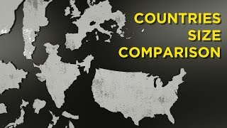 Countries Size Comparison