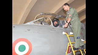 Air Chief Marshal RKS Bhadauria flies Mig-21 Bison at frontline airbase in Western Command  IMAGES, GIF, ANIMATED GIF, WALLPAPER, STICKER FOR WHATSAPP & FACEBOOK
