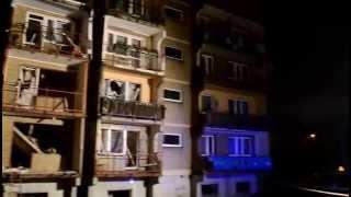 preview picture of video 'Wybuch gazu w Bytomiu Miechowicach - bez komentarza'