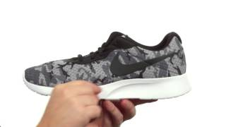 Nike Tanjun Print Men's Shoe video