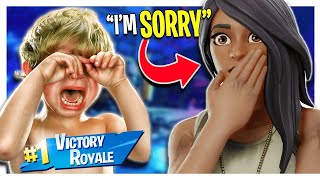 6 Year Old Throws a Temper Tantrum Over a Fortnite Match (Battle Royale)