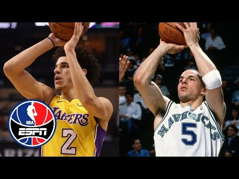 Lonzo Ball's early shooting issues remind Paul Pierce of Jason Kidd's | NBA Countdown | ESPN
