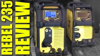 🔥 ESAB Rebel 235ic Review: Part 1 (Stick Welding)